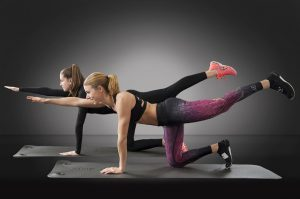 exercise yoga core fitness woman 300x199 - Diseases You Can Battle with Fitness
