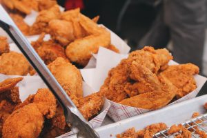 fried chicken food fat 300x200 - Reason to consume less fat