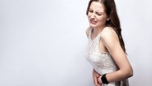 woman stomachpain 300x169 - Holistic Cures for Various Stomach Ailments: Sharp pain, spasms, wind