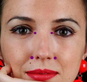Relieve Running Nose/ Sinus with Acupressure