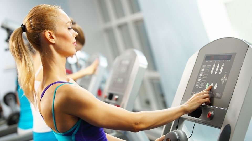 exercise treadmill - How to Stay Motivated When Doing Cardio- Turn off the Timer
