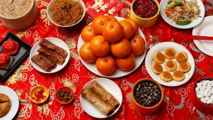 cny feast 300x169 - Compensating for feasting during festivals