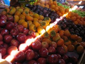 Fresh fruits sold in Chow Kit market, Kuala Lumpur