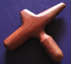 acupressurewoodtool 300x272 - Small Acupressure Tool- made of wood