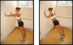 wallpushup 300x185 - How to reduce a hunched back through exercising