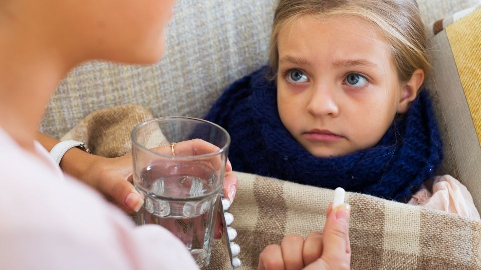 child antibiotic - Using antibiotics to treat infections in children increases the risk of recurrence