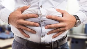 man bloatedstomach 300x169 - Lifestyle factors that increases the risk of bowel cancer in older men