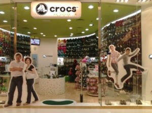 Crocs- expensive but many claimed is comfortable