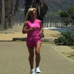 christine training 150x150 - Formerly Obese 220lbs woman now runs in marathons