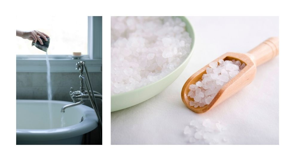 saltwaterbath - Feeling tired and drained at the end of the day? Removing negative energies