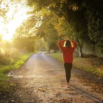 woman walking fitness nature 150x150 - Why being more physically active can improve your stomach problems
