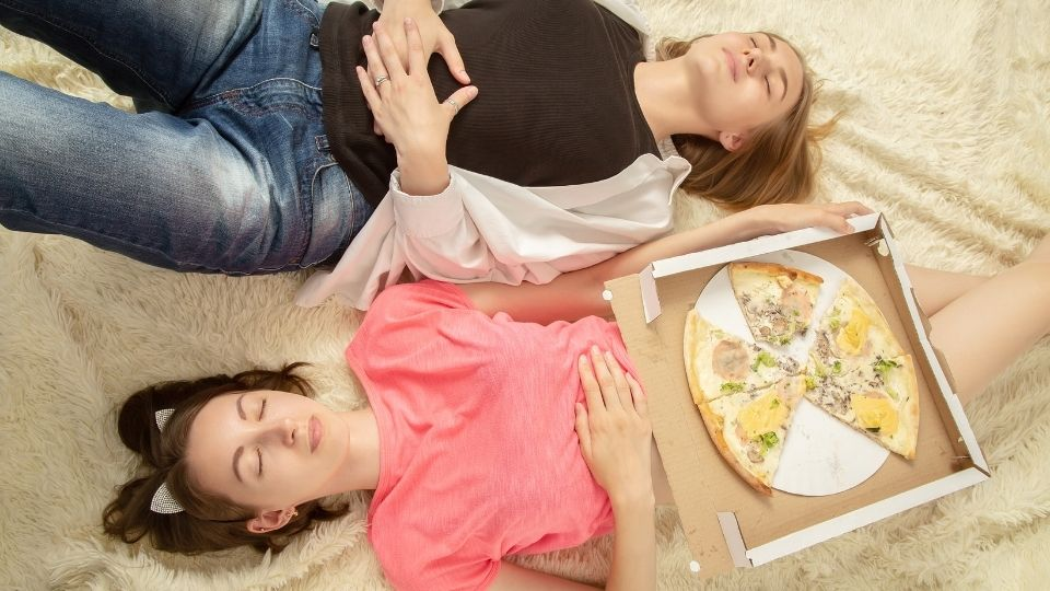 overeat tired - What to do when you feel like a beached whale after a full meal