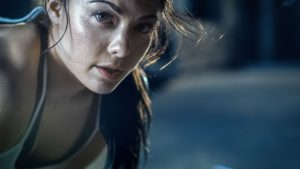 woman sweat 300x169 - What it means if you hardly sweat and sweat is sticky