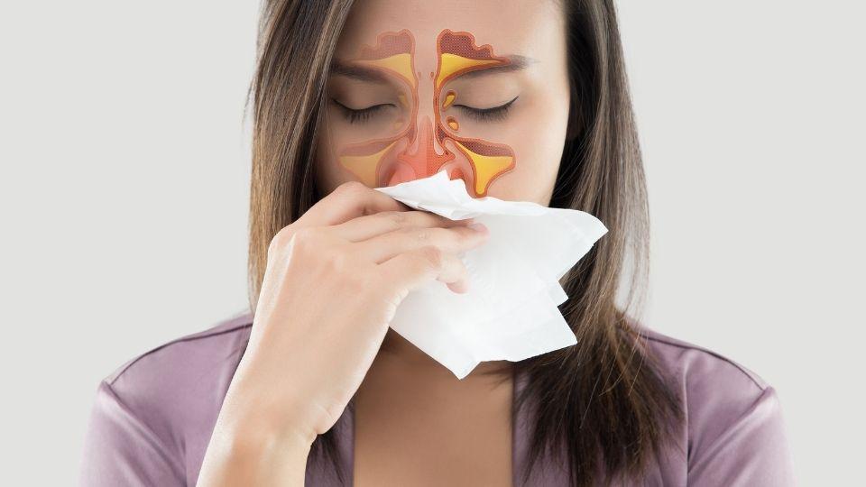 woman sinusflu - Why do I keep getting colds, sinus and flu?