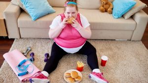 woman gainweight 300x169 - Why losing weight is not a matter of willpower, diet or exercise