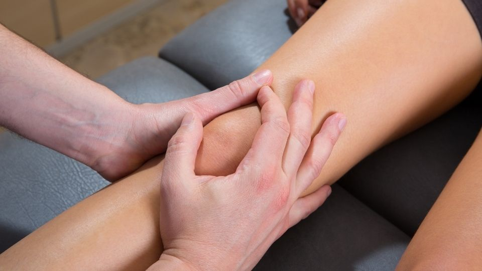 knee massage - Curing Knock Knees through Clearing Meridian Blockages