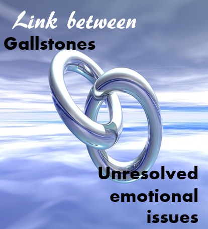 gallbladder - Link between gallbladder and gallstones and our unresolved emotional issues
