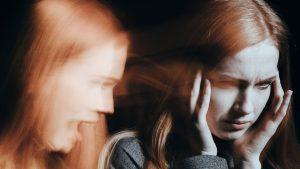 woman schizophrenia 300x169 - The line between schizophrenia and psychic abilities
