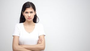 woman upset grudge 300x169 - The danger of holding grudges and being angry towards your heart