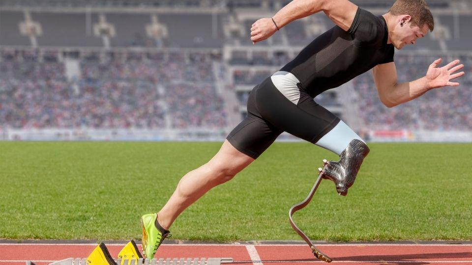 disabled leg - Disabled people who made a difference