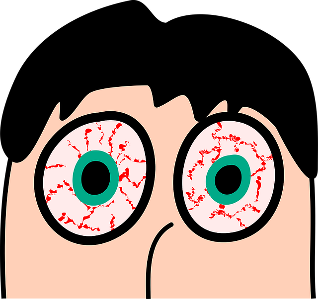 eye conjuctivitis - Inflammed eyes or conjunctivitis- someone got on your nerves?
