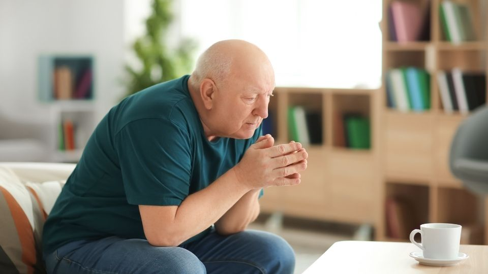 elderlyman sad - When life loses its meaning after retirement