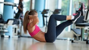 woman exercise situp 300x169 - Exercise frequency 15 minutes a day or 1 hour once a week is better?