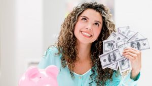 woman savemoney 300x169 - Save money while you can and life would be less stressful later