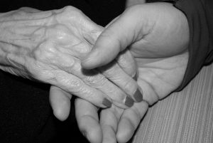 caregiver love senior 300x201 - Role of the caretaker/ caregiver in helping the recovery of a loved one