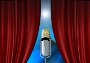 curtain mike 300x212 - Help how to cure my laryngitis quickly? I've got public speaking tomorrow!