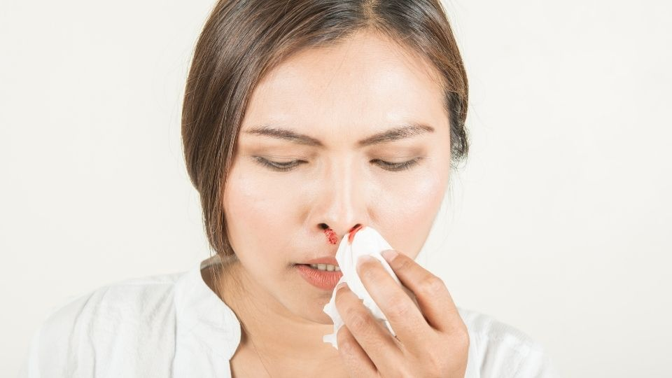 nosebleeds - Are my nose bleeds normal or a bad sign?