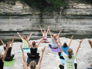 women yoga 300x225 - A Welcome Message to My New Health Blog