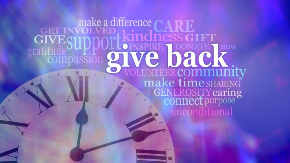 give back - Give health and get back health in return- a real story