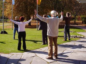 qi gong seniors 300x225 - Thought of quiting the gym?