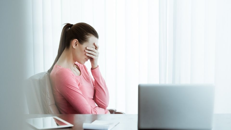 woman work stress - When the job takes a toll on your health