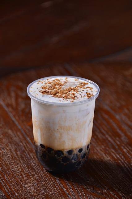 drink bubbletea - Bubble Tea- addictive and high in calories