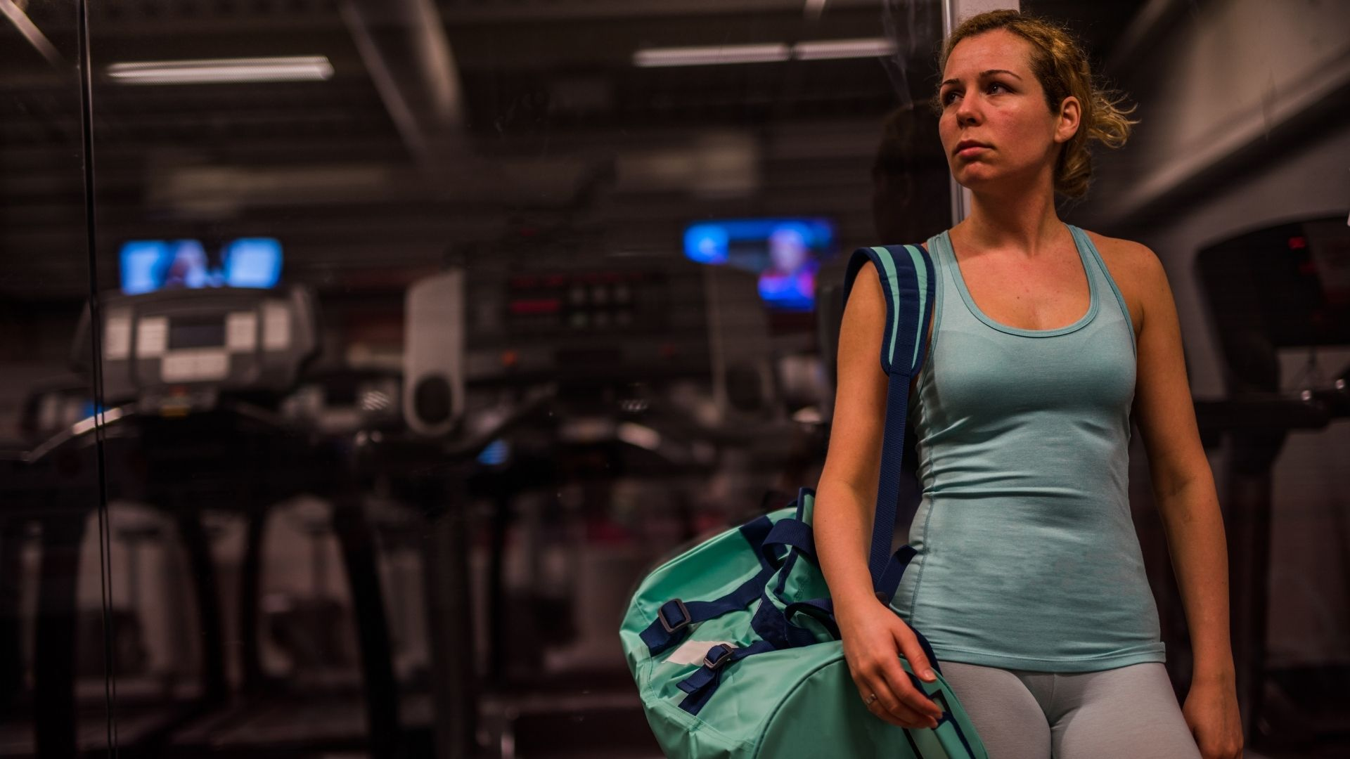 woman leavegym - Before you quit the gym, read this