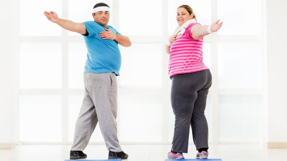 exercise overweight - Exercise motivation in the gym for the overweight
