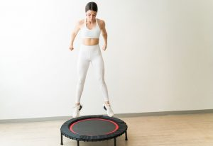 exercise trampoline 300x206 - Exercises to help relief pain due to PMS