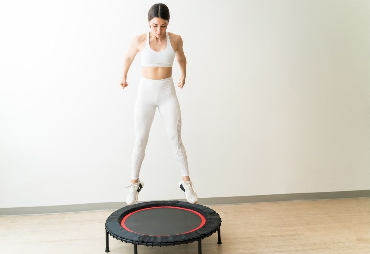 exercise trampoline - Exercises to help relief pain due to PMS