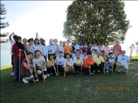 cane exercise penang group - Cane Exercise at Robina Park Penang