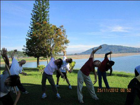 cane exercise penang02 - Cane Exercise at Robina Park Penang