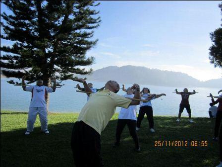 cane exercise penang03 - Cane Exercise at Robina Park Penang