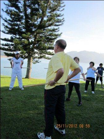 cane exercise penang04 - Cane Exercise at Robina Park Penang