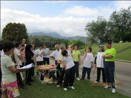 cane exercise penang06 - Cane Exercise at Robina Park Penang