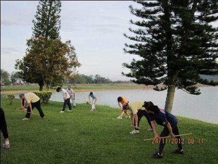 cane exercise penang07 - Cane Exercise at Robina Park Penang