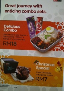 airasiafoodmenu1 212x300 - Calories information available in the Air Asia in-flight menu