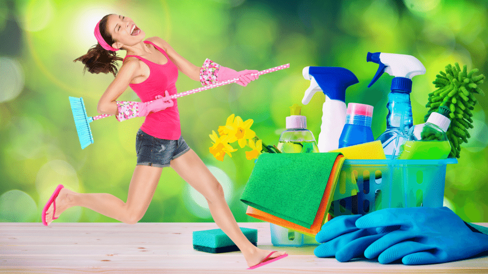 cleaning joy - Is doing housework the same as structured workouts?