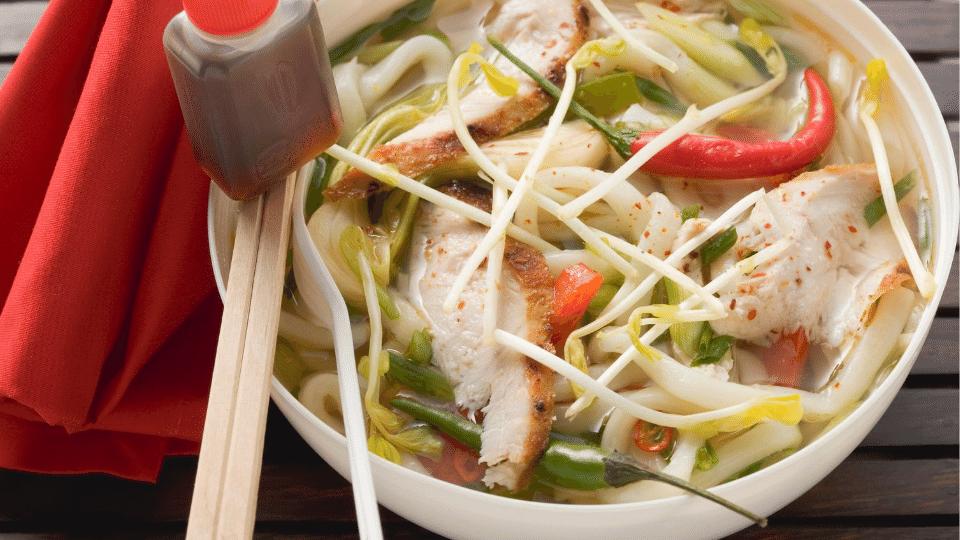 noodlesoup yongtaufu - Habit of taking light instead of heavy dinner