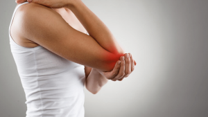 pain elbow hand 300x169 - Constant pain and discomfort in shoulder blade and elbow- Mind Body Connection